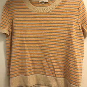 Madewell stripped t shirt sweater